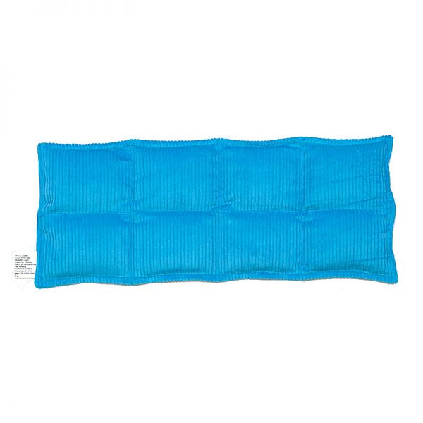 aqua eight panel lumbar and thigh heat bag for sale at heatbags plus