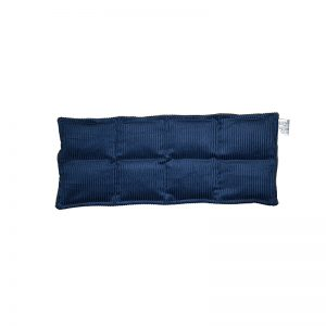 navy blue eight panel lumbar and thigh heat bag for sale at heatbags plus