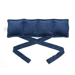 navy blue four division tie bag for sale at heatbags plus