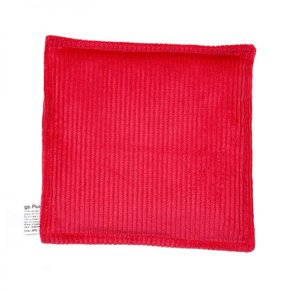 red junior square heat bag for sale at heatbags plus