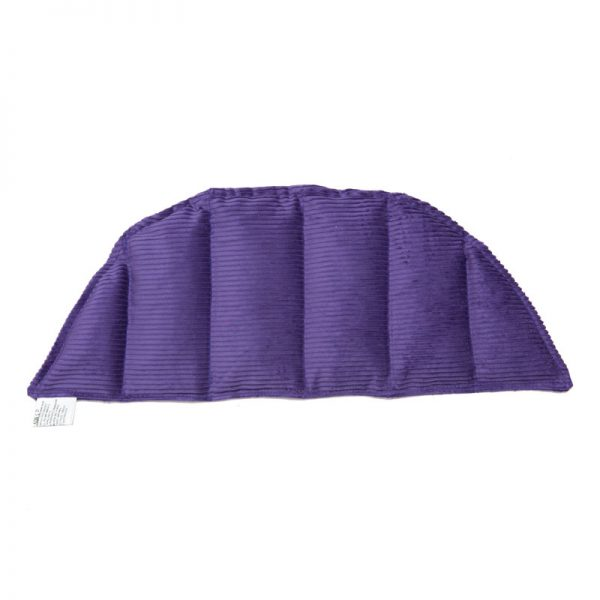 purple six panel shoulder heat pack for sale at heatbags plus