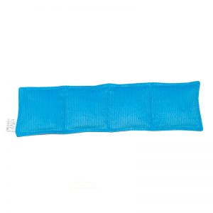 aqua four panel pillow heat pack for sale at heatbags plus