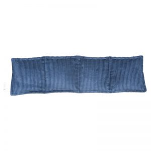 navy blue four panel pillow heat pack for sale at heatbags plus