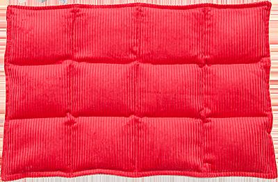 red 12 div heat bag transp