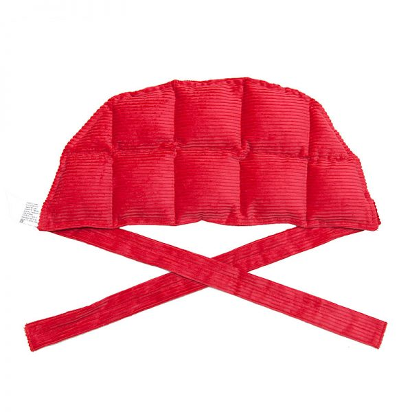 red ten panel heat bag for sale at heatbags plus